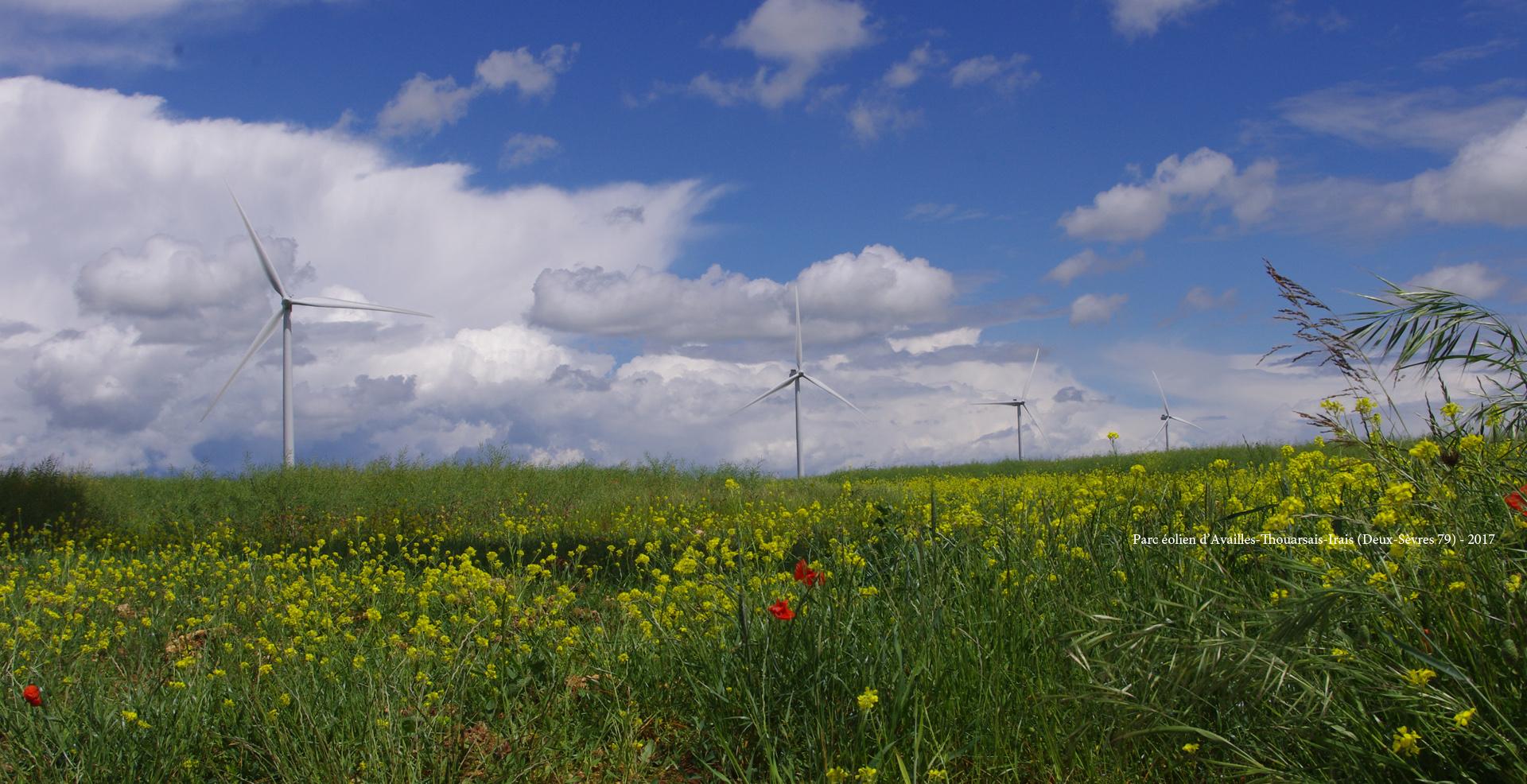 Parc éolien d'Availles-Thouarsais-Irais 79